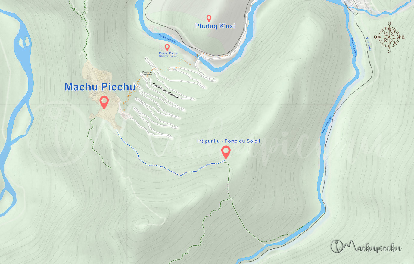 Route d'Intipunku - Machu Picchu